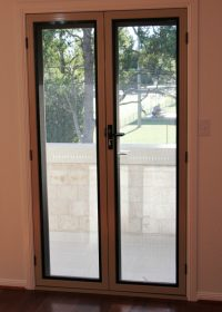 Crimsafe French Doors- Internal