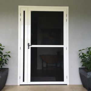 Crimsafe Ultimate French Door with Midrail