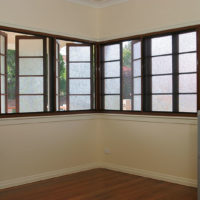 Crimsafe Double Sliding Window Grilles on Casement Windows