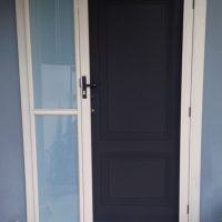 Crimsafe Hinged Door Cream
