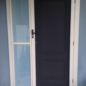 Crimsafe Hinged Door Cream