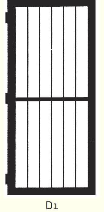 D1 Steel Door Design