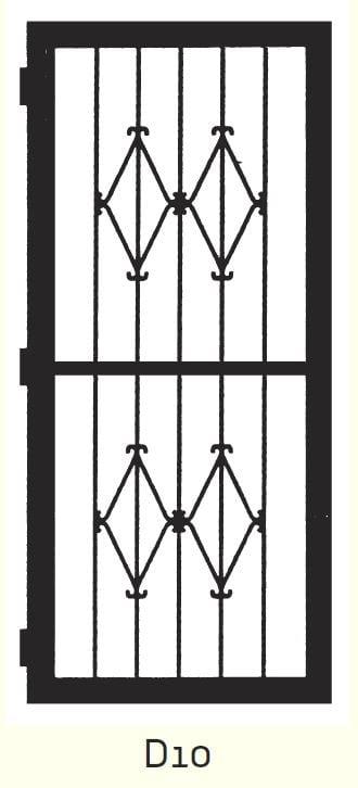 D10 Steel Door Design