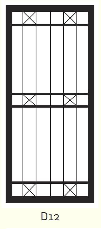 D12 Steel Door Design