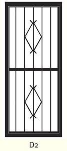 D2 Steel Door Design- small