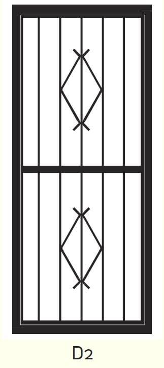 D2 Steel Door Design