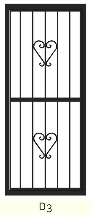 D3 Steel Door Design