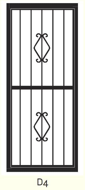 D4 Steel Door Design