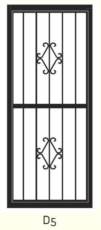 D5 Steel Door Design