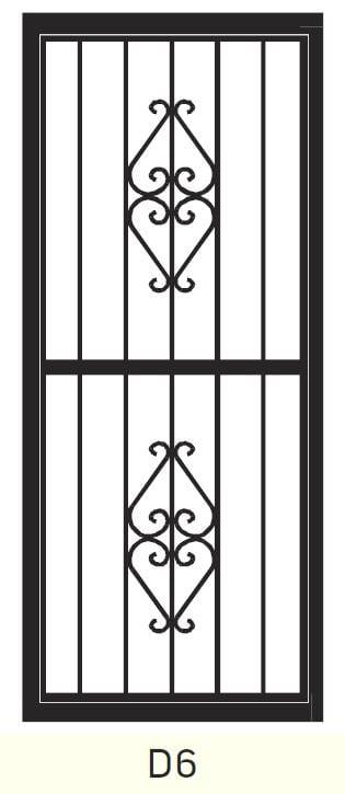 D6 Steel Door Design