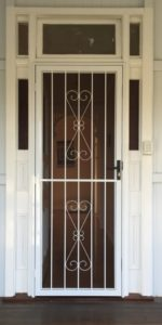 D6 Steel Security Door on Queensland