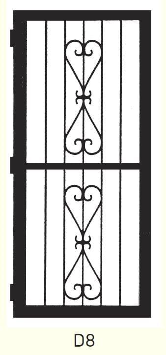D8 Steel Door Design