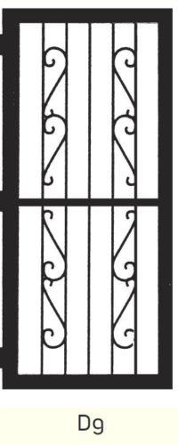 D9 Steel Door Design