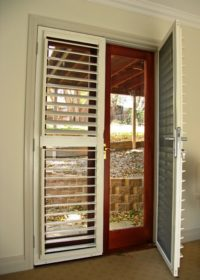 French shutter Doors