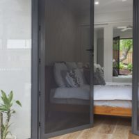 Crimsafe Double Doors