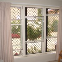 Mid Duty Grille on Double HUng Windows 2