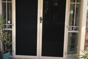 Crimsafe Double Entry Doors
