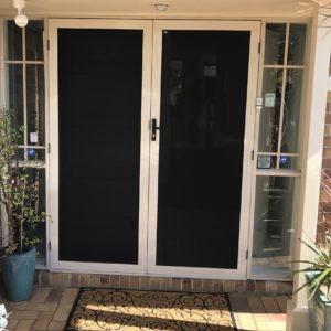 Crimsafe Double Entry Doors