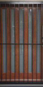 poulus door - steel d1